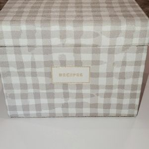 Kate Spade recipe box
